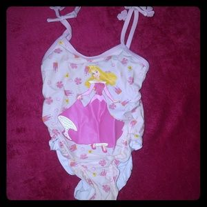 Disney sleeping Beauty swim suit (read description